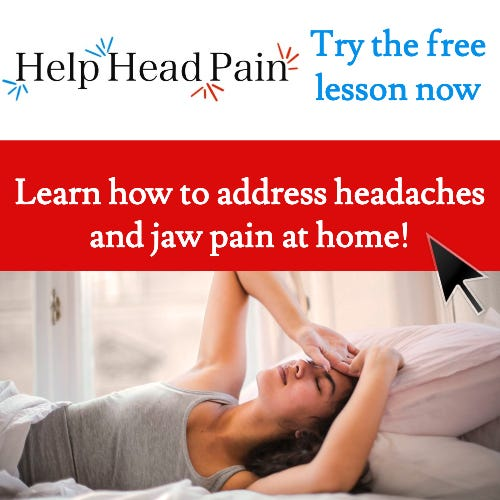 Relieve Jaw Pain